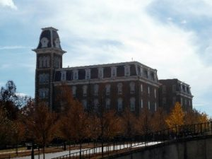 Old Main Univ of Arkansas