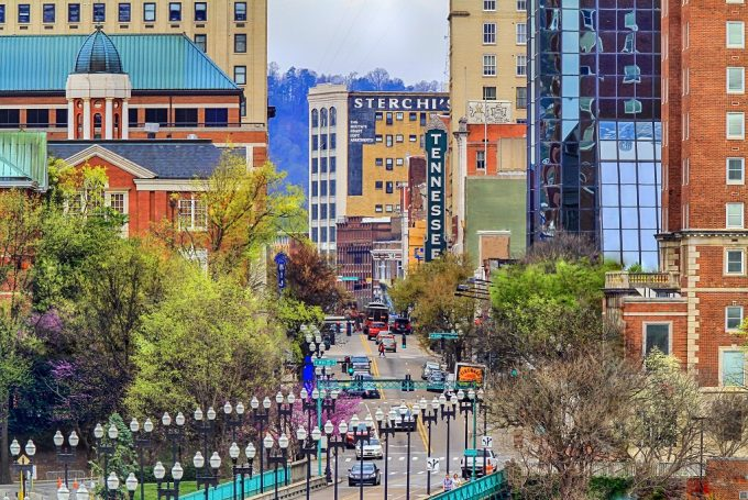 Image of Knoxville Downtown